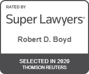 Robert Boyd Super Lawyers 2020